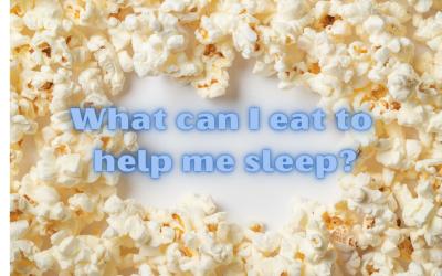 What can I eat to help me sleep?