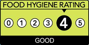 Food Hygiene Rating 4